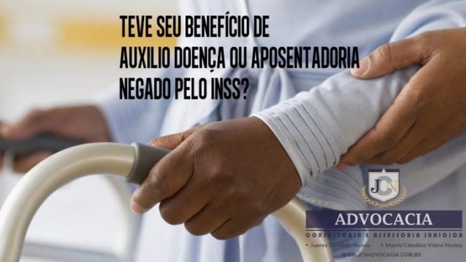 JCN ADVOCACIA – Benefício negado pelo INSS